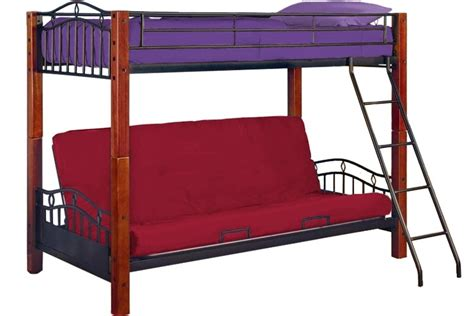 bunk futon combo stylish bunk bed futon combo badotcom com
