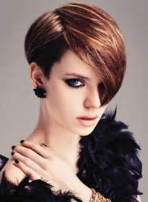 trendy haircut from 2014 trendy side parted short haircut with highlights