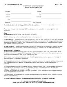 auto lease agreement template best photos of vehicle lease agreement template car