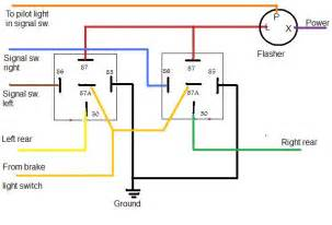 6 best images of signal light flasher wiring diagram