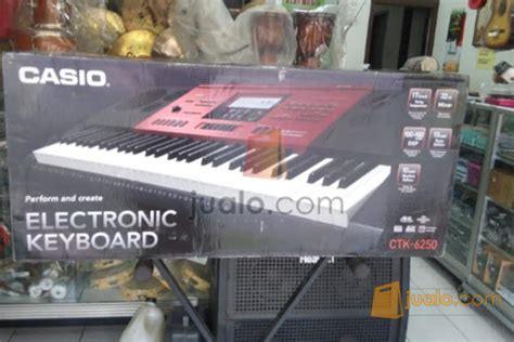 Keyboard Casio Di Bandung keyboard casio ctk 6250 di bandung jawabarat margaasih jualo