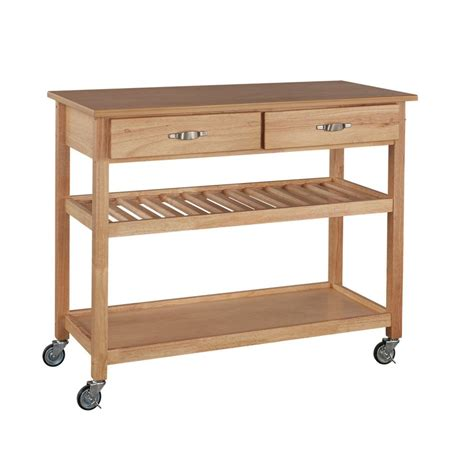home styles designer utility cart the home depot