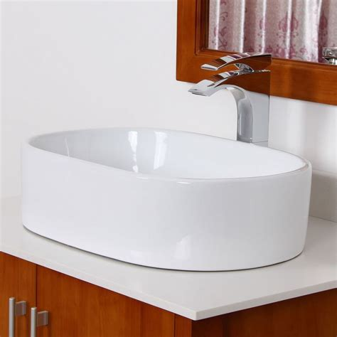 unique bathroom sinks elite 4352 high temperature grade a ceramic bathroom sink