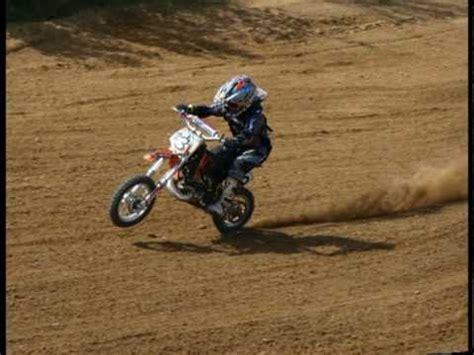 Cross Motorrad Ktm 80 Ccm by Msc Werl 50 Ccm Rennen Niklas Wojaczek Motocross Youtube