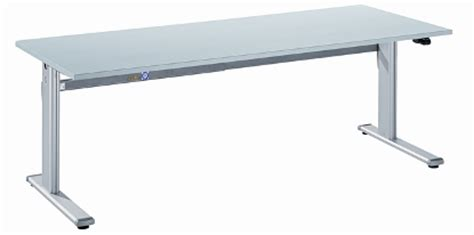 breiter schreibtisch elektrisch h 246 henverstellbare schreibtische schwipp