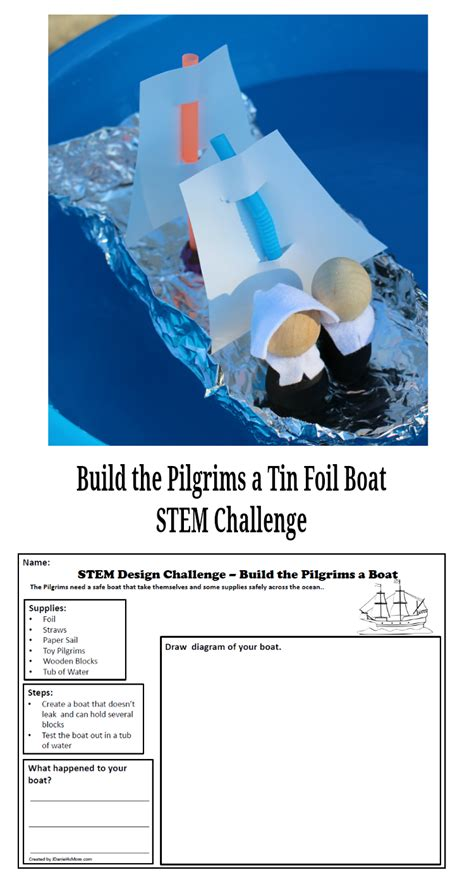 build a boat stem challenge build the pilgrims a boat stem challenge
