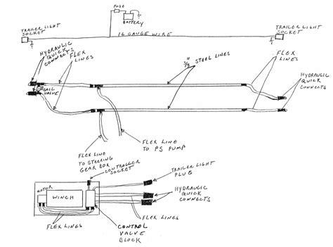 transportable winch installation road