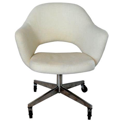 Rolling Desk Chair by Early Rolling Desk Chair Eero Saarinen At 1stdibs