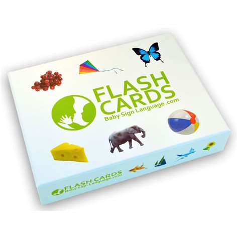 flash cards baby sign language flash cards