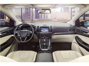 Cargo Management System 2017 Ford Edge 2017 Ford Edge Interior U S News World Report
