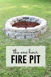 Simple Backyard Fire Pit 39 Diy Backyard Fire Pit Ideas You Can Build