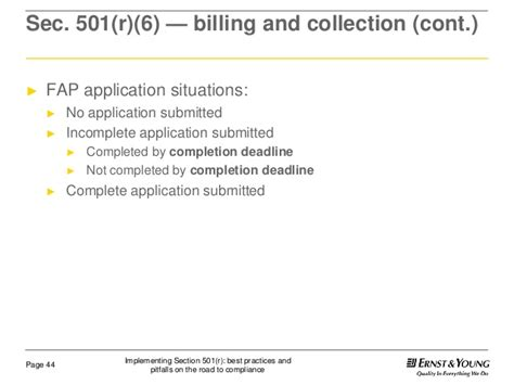 section 501 c 6 implementing section 501 r best practices and pitfalls