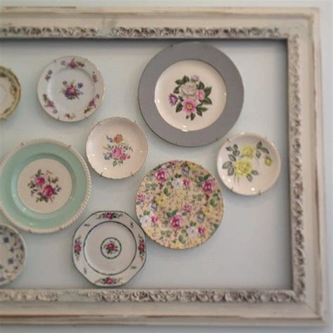 decorative plates for wall display china display vintage diy project