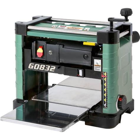bench top planers 13 quot benchtop planer with built in dust collection