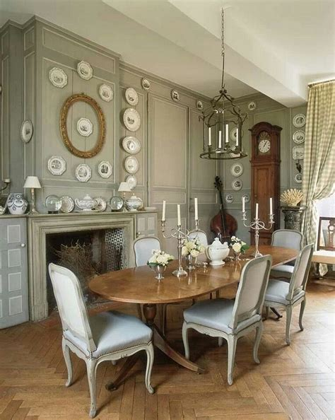 dining room in french french country decor elements for house design