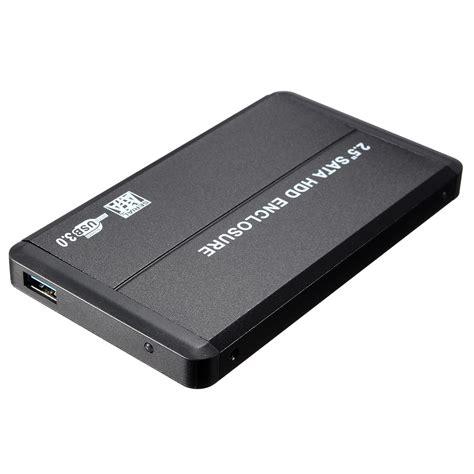 Hardisk External 2 usb 3 0 sata 2 5 quot disk drive hdd external enclosure box for lapto 14q4 ebay