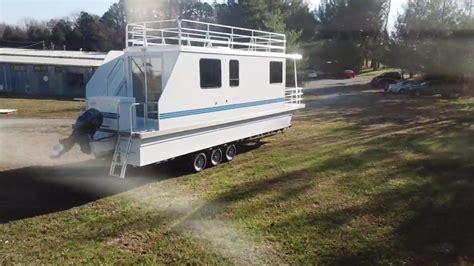 35 catamaran cruiser houseboat 10x35 trailerable houseboat catamaran cruiser youtube