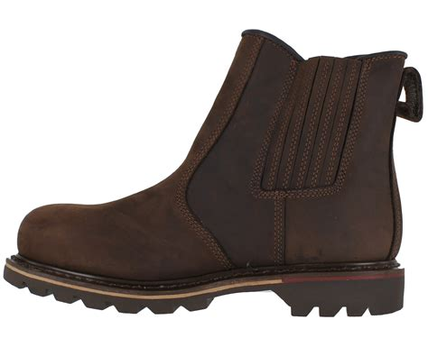 best slip on work boots mens v12 best slip on dealer pull on steel toe safety work