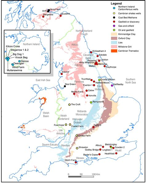 map uk fields how much shale gas do we shale gas