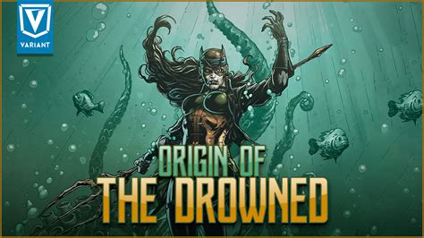 the drowned and the origin of the drowned evil batman aquaman variant