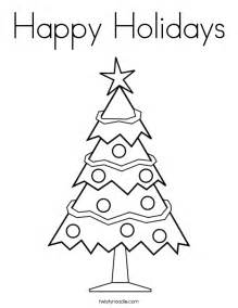 happy holidays coloring pages happy holidays coloring page twisty noodle