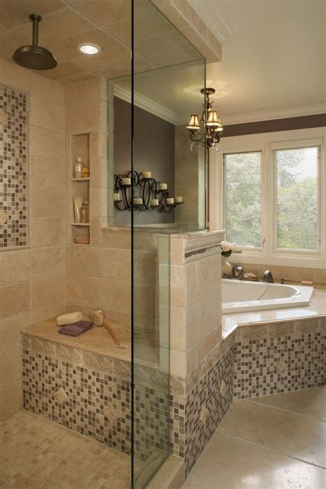 bathroom accent corner soaking tub bathroom traditional with accent tile