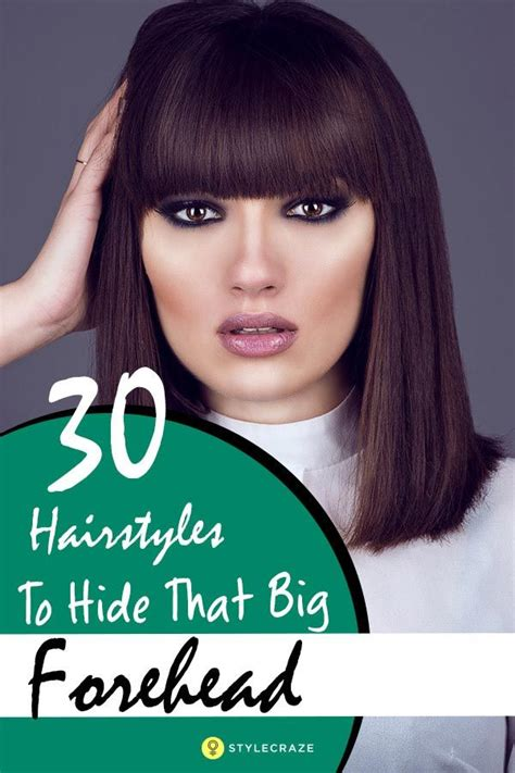 hairstyles to cover forehead best 25 large forehead hairstyles ideas on pinterest