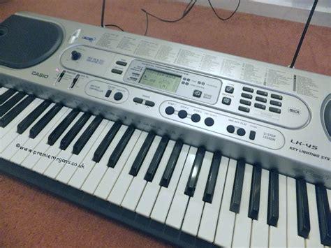 Keyboard Organ Casio premier new page