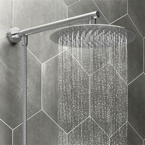 cruze mm slim rainfall shower head   flexible
