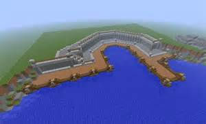 minecraft small town port tutorial how to build