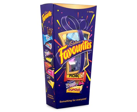 Cadbury Favourites cadbury favourites 540g great daily deals at australia s