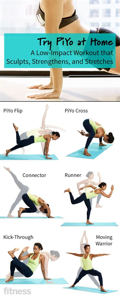 try piyo at home a low impact workout that sculpts and