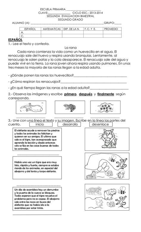 preguntas basicas sobre la revolucion mexicana examen bimestre 2 segundo grado 2012 2013