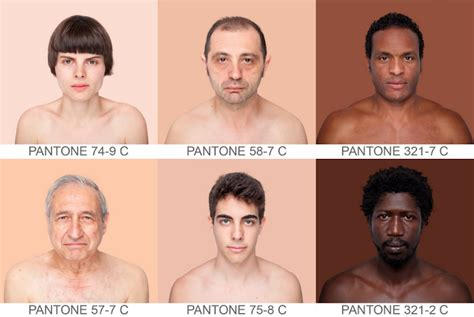 what skin color am i in color human 230 the skin color index