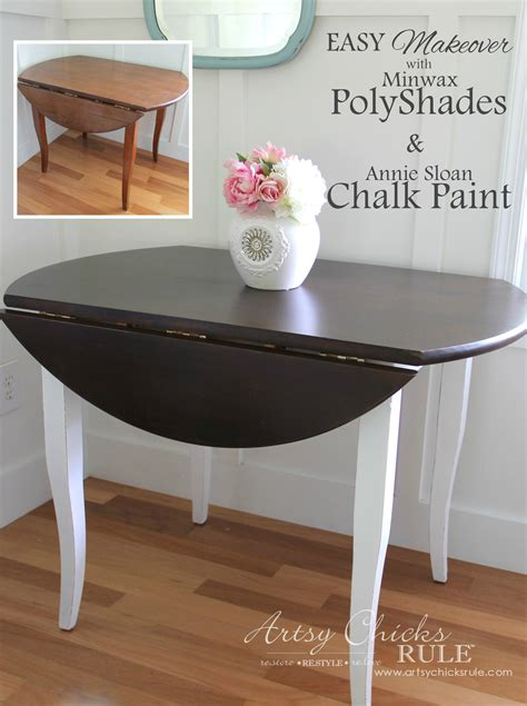 diy chalk paint on wood update wood furniture with polyshades chalk paint