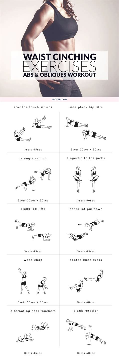 exercises for oblique workout and abs