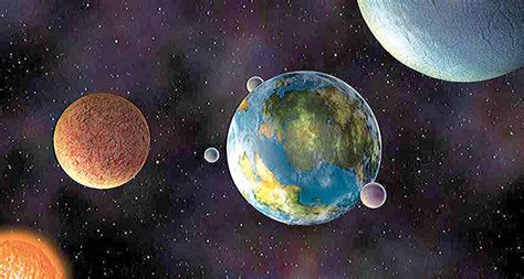 Planetary Exploration The Distant Planets Cover search for signs of on distant planets advances