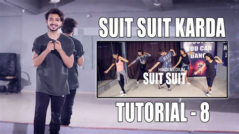dance tutorial indian dance tutorial suit suit karda step by step vicky