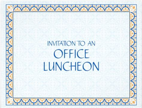 luncheon invitation template lunch invitation template www pixshark images