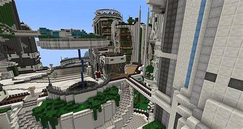 teweran survival games 3 futuristic city minecraft project
