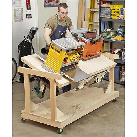 bench tools flip top tool bench woodworking plan from wood magazine