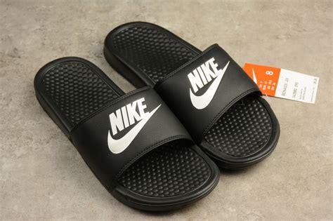 Nike Benassi Swoosh Nike durable nike benassi swoosh jdi slider flip flops black