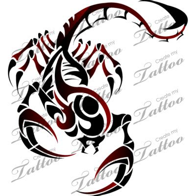 tattoo design marketplace marketplace tattoo tribal scorpion 1111 createmytattoo