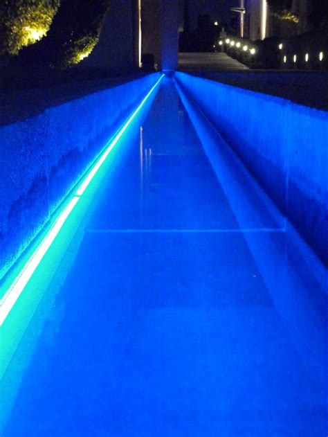linear pool lighting with barthelme underwater led strips