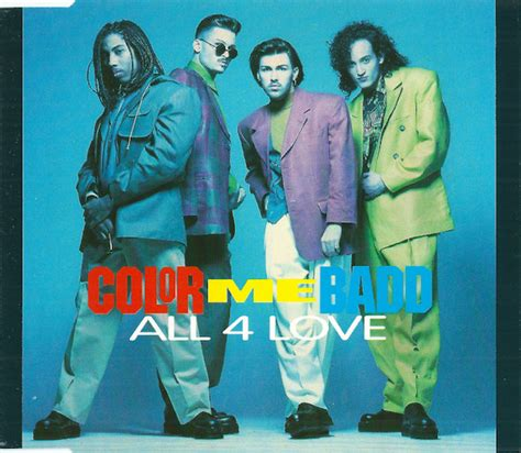 color me badd all 4 color me badd all 4 cd single discogs