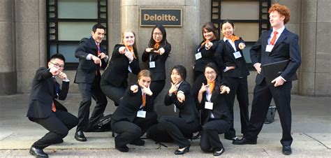 Deloitte Mba Competition 2016 by Whitman Accounting Students Compete In Annual Deloitte Tax