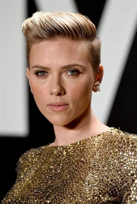 scarlett johansson hairstyle oscars 2015 hair style 15 lovely ways to style your short hair this spring
