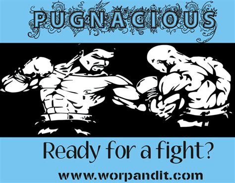 pug nacious pugnacious definition what is