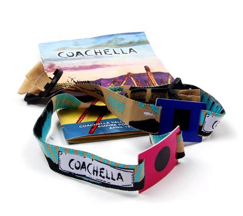 coachella   ID&C Wristbands