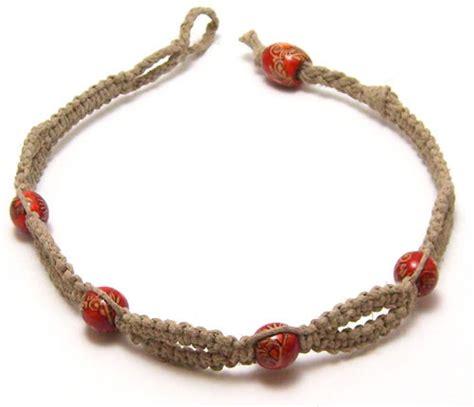 hemp bracelet with hemp bracelet closures factory direct craft